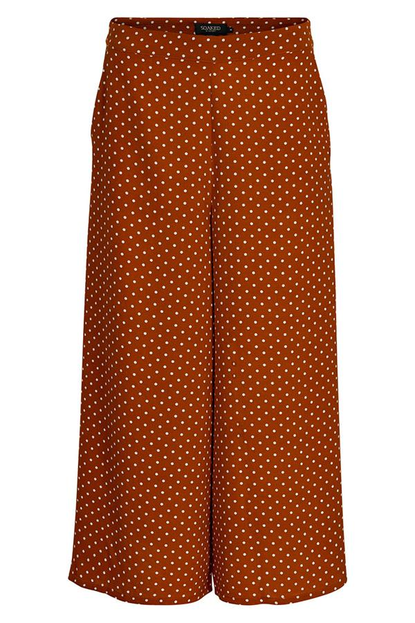 Mila Culottes  30403914 Trousers ginger Dot Print