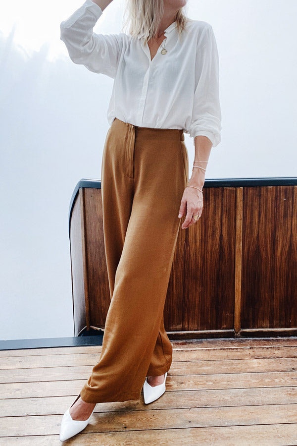 Padoue F11068 Trousers Ocre