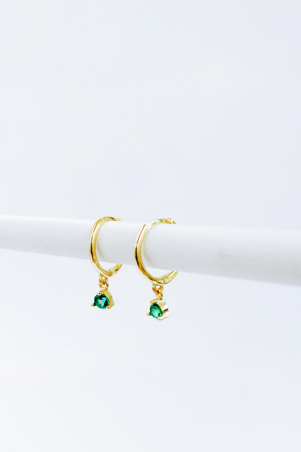 Harper Earrings Green