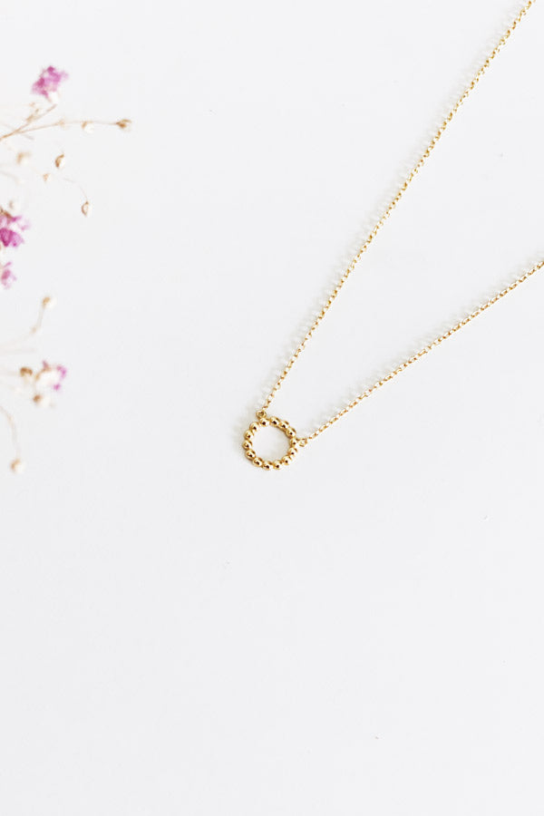 Vanille Necklace Gold