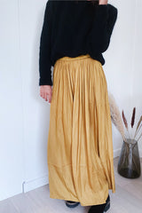 Edmonise F11092 Skirt Moutarde