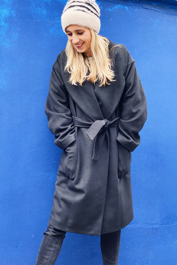 Fiordaliso Coat Black