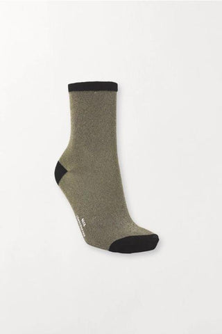 Dina Solid 0000848011 Socks 817 Gold