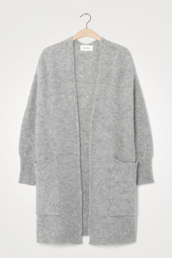 East EAST19B Cardigan Gris Chiné