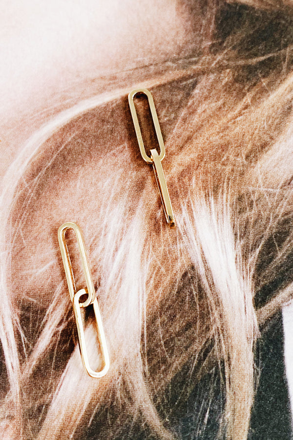 Hoff Earrings Gold