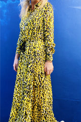 Venga 30106009 Dress Yellow Leopard