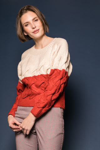 8203345 Sweater Red