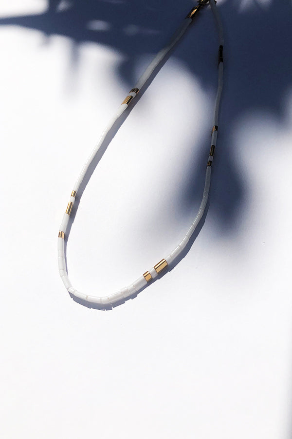 Loula White Necklace White