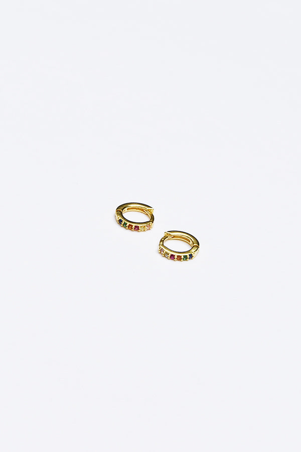Lula Earrings Multi Gold