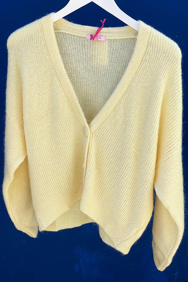 Nic Cardigan Yellow