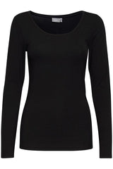 Pamila Long Sleeve 20801993 Tshirt Black