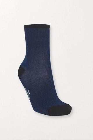 Dina Solid 0000848011 Socks 205 Blue Nights