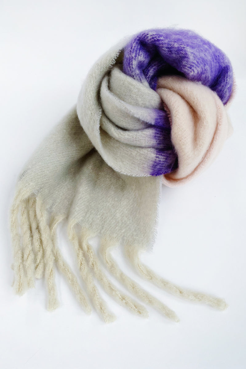 Alvin Scarf Purple