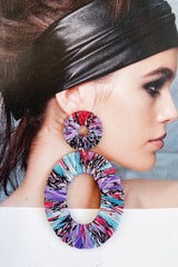 WEN Pascalle Earrings Purple/Blue