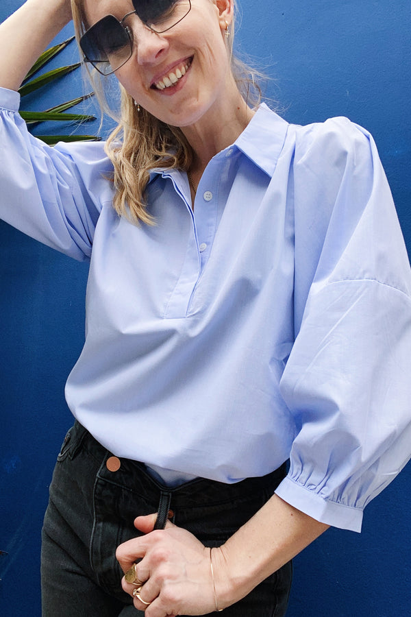 Lidia 58062 Blouse Light Blue