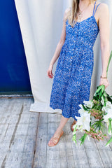 Anabela 58149 Dress Blue
