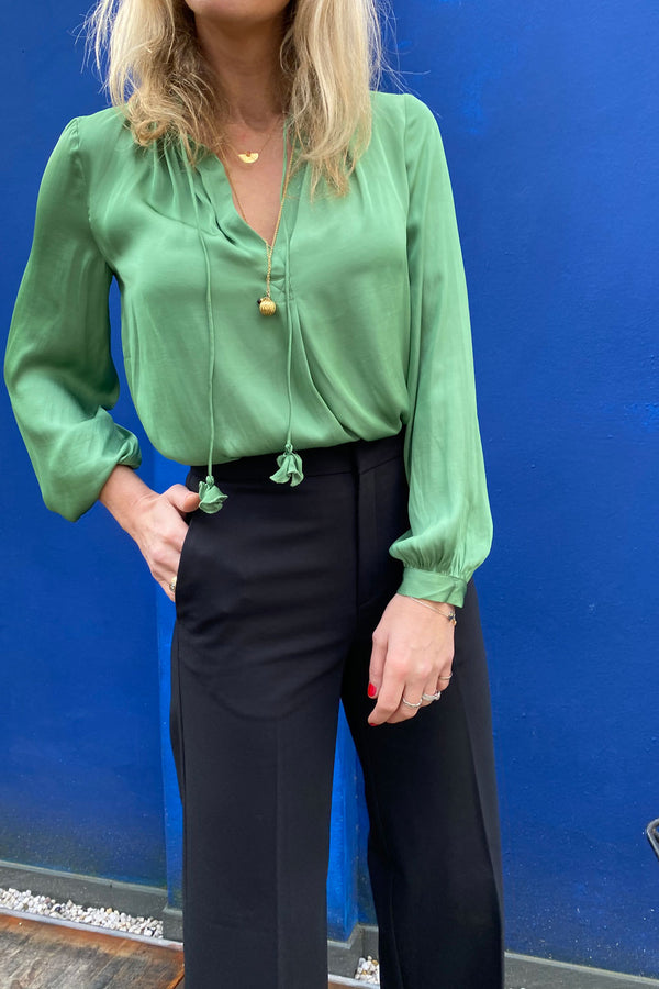21112145 Blouse Green