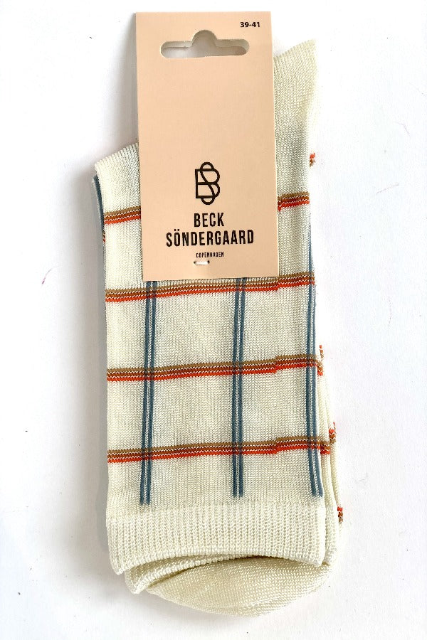 Square Rainbird 2101871004 Socks Cloud Dancer