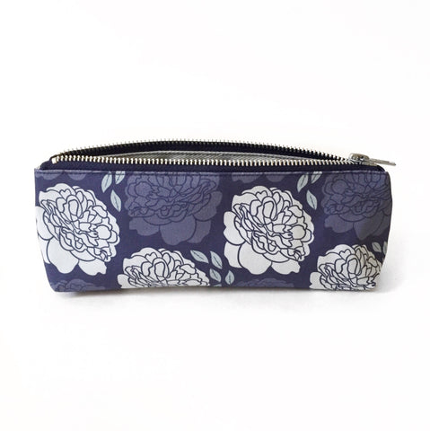 Elizabeth-Attwood-Climbing-Peonies-Pencil-Case-Blue