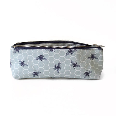 Elizabeth-Attwood-Glowing-Hive-Pencil-Case-Medium-Blue