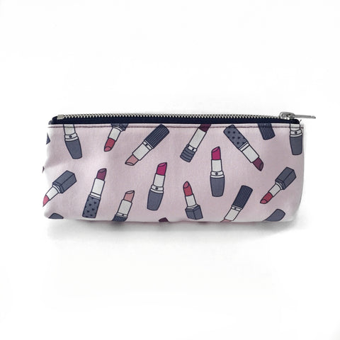 Pencil Case | Lipsticks | Pale Pink