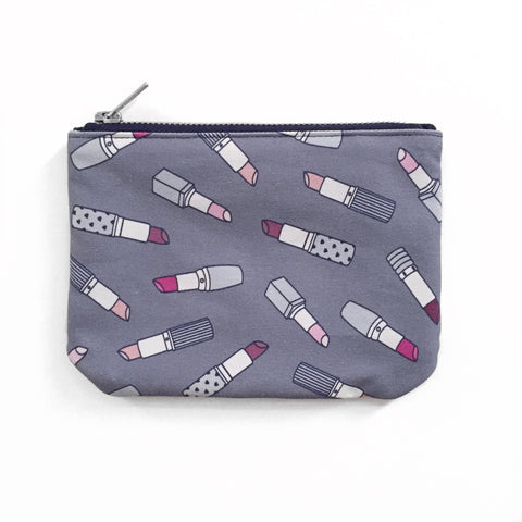 Pocket Pouch | Lipsticks | Denim Blue