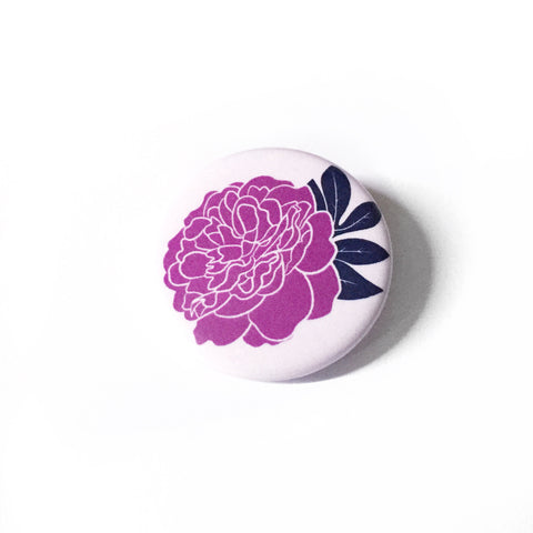 Pin | Solo Peony | Pink