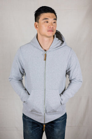 3sixteen Heavyweight Hoody - Grey - Franklin & Poe