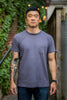 3sixteen Garment Dyed Plain T-Shirt - Purple - Franklin & Poe