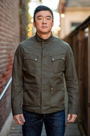 Stevenson Overall Co. Aggressor Jacket - Dark Olive