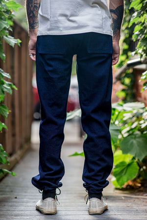 3sixteen Fatigue Pant - Indigo/Indigo Denim
