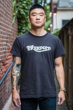 Mister Freedom Shop Tee - Freedom Black