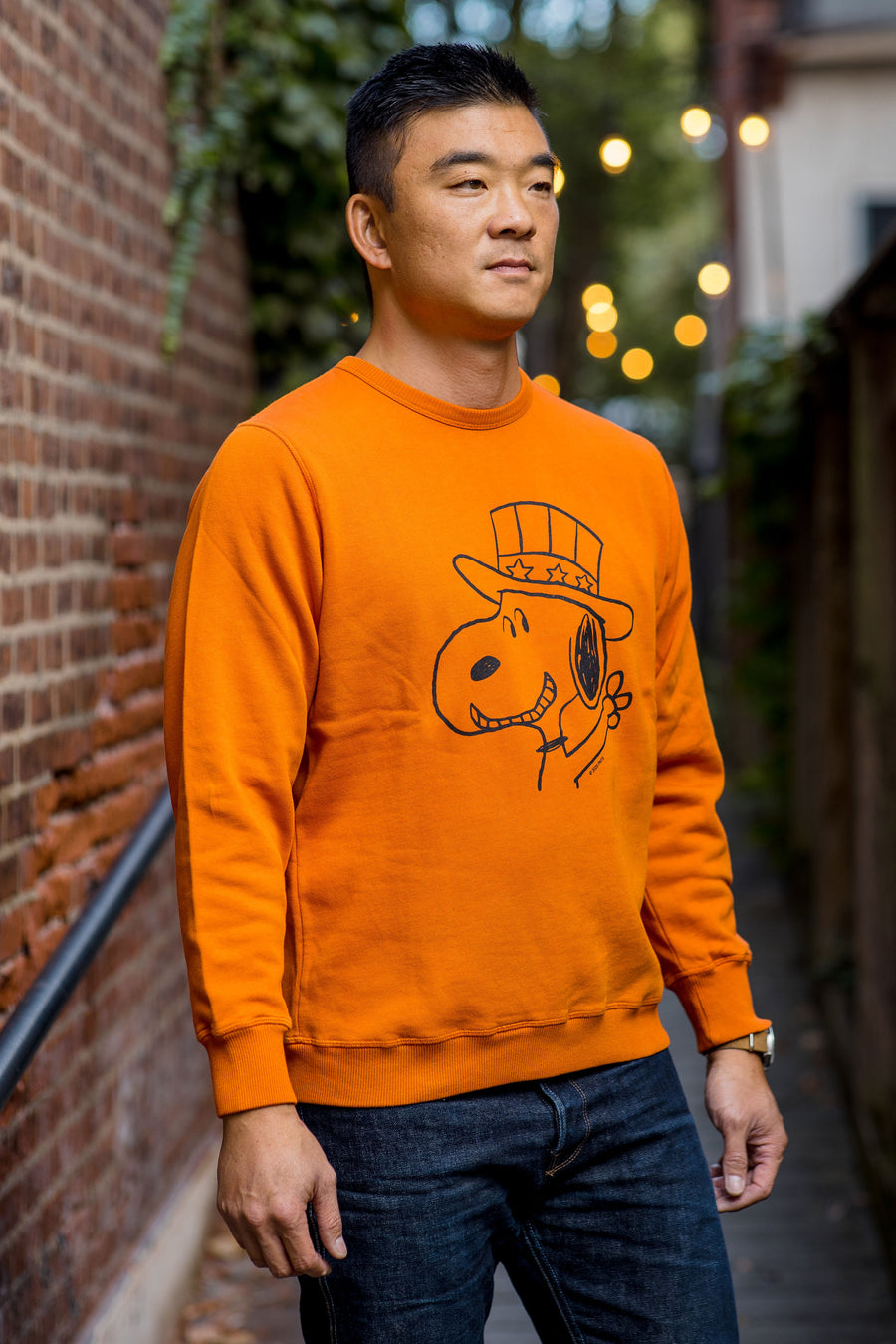 TSPTR Snoopy 2020 Sweatshirt - Pumpkin Orange