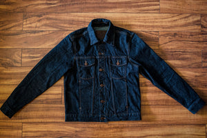 Freenote Cloth Classic Denim Jacket - 16 oz. Rinsed Denim