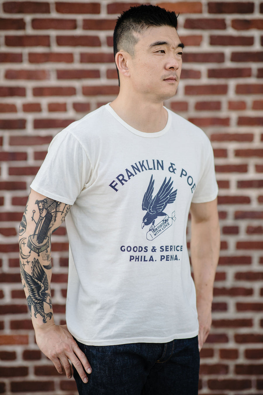 Franklin & Poe Shop Tee - From Fishtown With Love