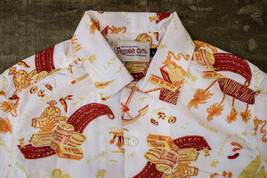 Freenote Cloth Hawaiian - White