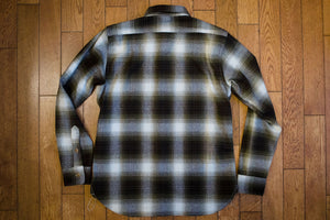 3sixteen Utility Shirt - Moss Plaid Flannel