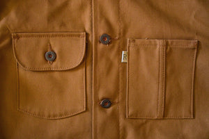 Railcar Fine Goods Chore Coat - 12 oz. Duck Canvas
