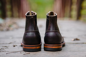 White's Boots x Franklin & Poe MP Service Boot (F&P Serial No. 18-002) - Brown Waxed Flesh - Franklin & Poe