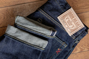 Iron Heart IH-555-01 Indigo 21oz. Selvedge Denim - Super Slim