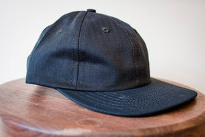 3sixteen 6-Panel Cap - Black HBT