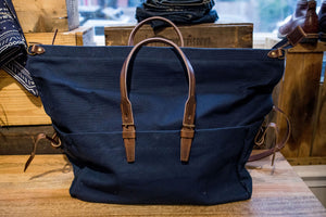 Bleu de Chauffe Cabine Travel Bag - Caban