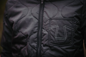Eat Dust Frostbite Nylon Jacket - Black - Franklin & Poe