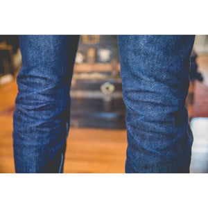 Iron Heart IH-666S-21 Indigo 21oz. Selvedge Denim - Slim Cut - Franklin & Poe
