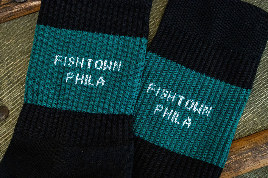 American Trench Kennedy Lux Athletic Socks - Fishtown Phila
