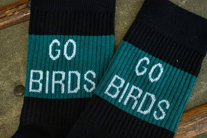 American Trench Kennedy Lux Athletic Socks - Go Birds