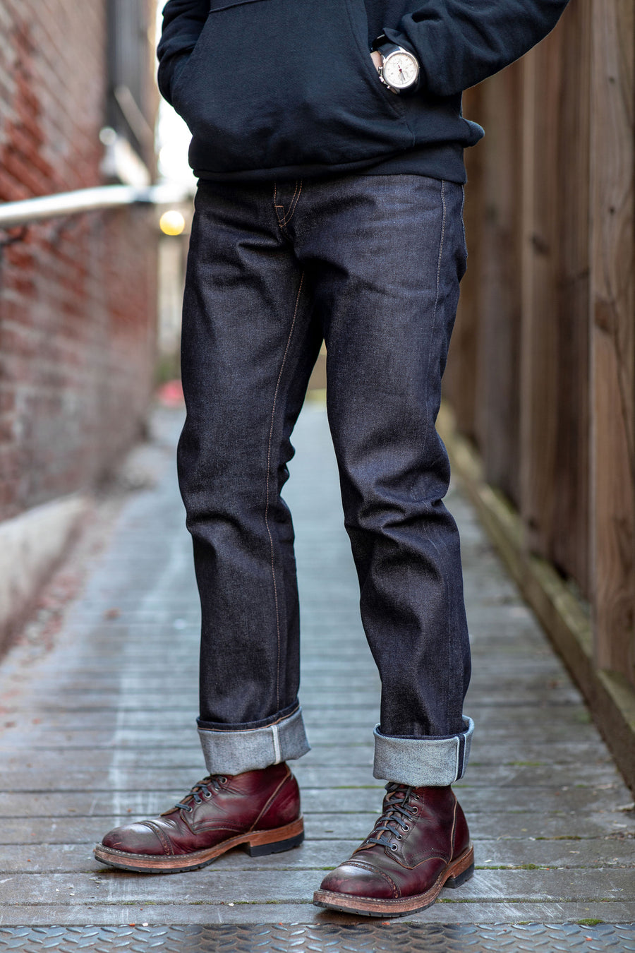 Rogue Territory Standard Issue - 15 oz. Proprietary Denim - Franklin & Poe