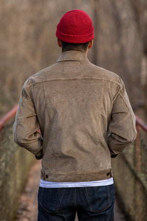 Freenote Cloth CD1 Jacket - 7 Wale Japanese Corduroy - Franklin & Poe