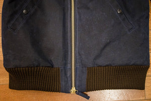 Dehen 1920 Flyers Club Jacket - Dark Navy/Brown