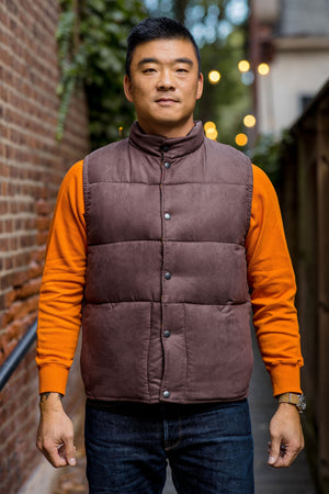 Stevenson Overall Black Hills Vest - Dark Brown